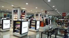 """DUFRY at Sunset Mall.  Manufacture & Design of Store Fixtures by Artco Group. """"The only way to do great wok is to love what you do"""""""