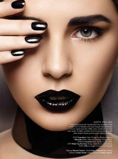 Back to Black by Glenn Prasetya for Elle Indonesia
