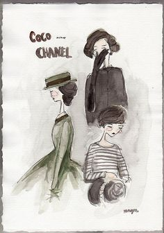 I love this. Old school french style.