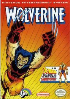 Box art from the Wolverine videogame.
