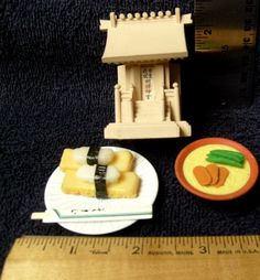 Miniatures Dollhouse Pagoda Sushi