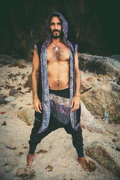 Premium low drop crotch ninja pants / baggy harem pant / harem pants men / harem pants women / unique harem pants by VALOdesigns on Etsy