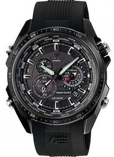 Casio Edifice Solar Chronograph Date (2011) Watch # EQS-500C-1A1 (Men Watch)