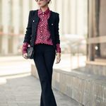 UniQUEEN jacket, J.Crew blouse, Stella & Dot bag, Christian Louboutin shoes <3 via Wendy's Lookbook Blog