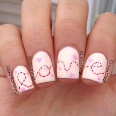 valentine by just1nail #nail #nails #nailart