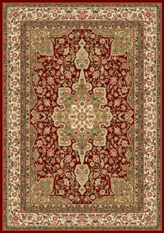 """Home Dynamix Royalty 8083 1'9"""" x 7'2"""" (500) Brown Runner Area Rug by Home Dynamix. $9.99. Royalty 8083, Red MC 5'2"""" X 7'2"""" Rugs"""