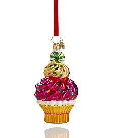 Christopher Radko Macy's Exclusive Cupcake Ornament