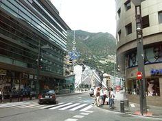 andorra la vella belváros Andorra, Street View