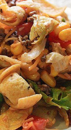 Corn Chip Taco Salad