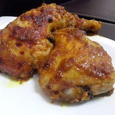 Honey-Mustard Baked Chicken  http://thegardeningcook.com/baked-chicken-recipes/