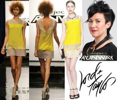 From Project runway.  I love the boat neck/v-back combo. It always makes me feel super powerful. BAM! :)