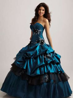 2012CORSET Ball Gown Taffeta Quinceanera Dresses Prom Party Dresses Custom | eBay  Estimated delivery: Between Wednesday, Feb. 6 and Friday, Feb. 8 item # 261149708049