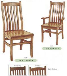 Amish Handmade Three Uneven Slat Bent Back Hardwood Chairs Enchanting Handmade Dining Room Chairs Design Ideas