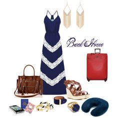 "Check out Cato bag in this great set!  ""Back Home"" by prettyposh on Polyvore"