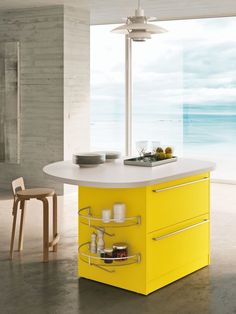 Snaidero SKYLINE 2.0, with its contemporary design and shape ...