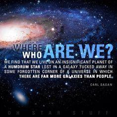 """Who are we? 