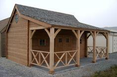 Cottage › Blokhutten › LSB Blokhutten: Blokhutten, Carports & Prieeltjes