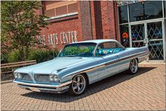 1961 Pontiac Bonneville Customized Bubble Top Coupe