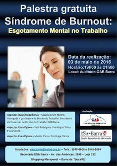 Jornalista Denise Machado: Palestra gratuita na OAB / Barra da Tijuca- Síndro...