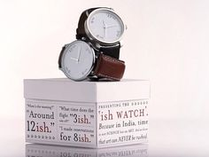 Watch & Packaging is so so but love the concept: 12-ish etc.