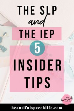 Are you a new school SLP who'd like an insider look at Individualized Education Plans (IEPs)? Writing a good IEP and conducting a successful IEP meeting are two really vital skills. This video shares 5 tips that are simple game changers for how to approach your next IEP.