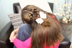 Twist-Braided Heart | Valentine's Day Hairstyles | Cute Girls Hairstyles
