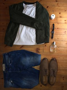 Pull & Bear jacket.  Burton UK stretch skinny jean. River island brown embossed leather shoes. #fashion #causal #autumn
