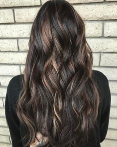 nice 65 Ideas for Dark Brown Hair With Highlights - For the Chic Modern Brunette