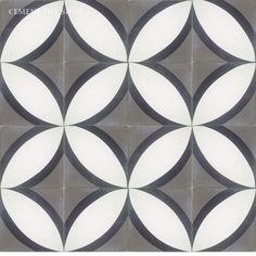 Cement Tile Shop - Encaustic Cement Tile | Circle