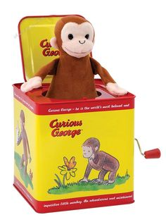 Curious George Jack in the Box  #NA #CuriousGeorgeJackintheBox