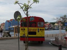 Party bus on Curacao