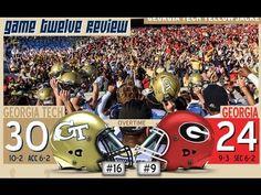 NCAAF 2014 Week 14 Georgia Tech at Georgia - YouTube