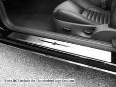 THUNDERBIRD 2002-2006 FORD (2 pieces: Door Sill trim - does not include cut outs) DS43670