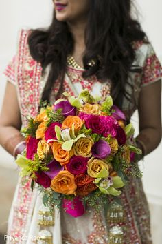 Bridal Bouquet http://www.maharaniweddings.com/gallery/photo/48075 @PriyancaPhoto