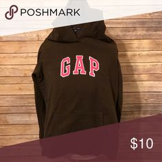 4417565583e Shop Women s GAP Brown Pink size S Sweatshirts   Hoodies at a discounted  price at Poshmark.