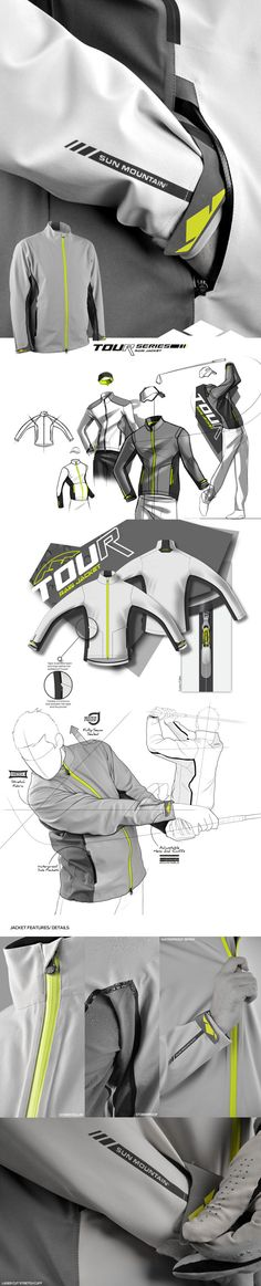 Tour Series Jacket by IOTA Design, via Behance.