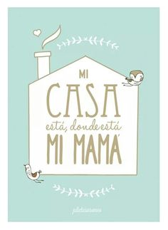 Día de las madres. I Love My Mother, Happy Mother S Day, Best Mother, Mother And Father, Mothers, Family Presents, Cute Messages, Dear Mom, Clever Quotes