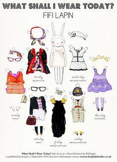 Fifi Lapin dress up