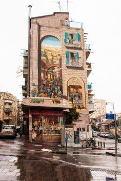 Agripas Street - Street Art - Jerusalem, Israel
