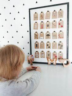 Nowele Domowe : Kalendarz adwentowy , miasto i droga do mikołaja DIY + Poster Store. Photo Wall, Kids Rugs, Frame, Diy, House, Home Decor, Poster, Picture Frame, Photograph