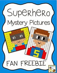 Mrs. Thompson's Treasures : Superhero Mystery Pictures - Exclusive Fan Freebie