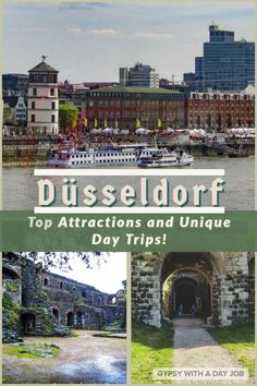 "Düsseldorf is a world class city, often called ""The Cradle of Culture."" Put some Düsseldorf days and day trips on your German itinerary! Top Travel Destinations, Europe Travel Guide, Travel Guides, Travelling Europe, Travel Info, European Vacation, European Destination, European Travel, Dusseldorf Germany"
