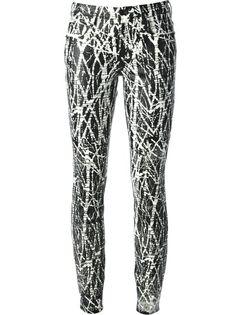PROENZA SCHOULER Graffiti Print Trousers