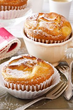 Peanut Butter Dessert Recipes, Dessert Recipes For Kids, Easy Cake Recipes, Baking Recipes, Desserts With Chocolate Chips, Chocolate Chip Recipes, Simple Muffin Recipe, Basic Recipe, Desserts Sains