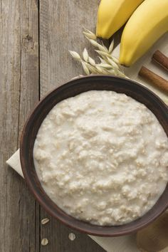 You just pour the cereal into the pot with water, milk and a dash each of maple syrup and salt. Set to low while you sleep, and in the morning you'll be spooning out a bowl full of the most comforting, rich oatmeal you've ever had.
