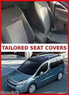 Citroen Berlingo Multispace XTR seat covers full set for 5 seats grey 2   eBay