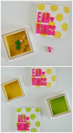 Polka Dot Jewellery Boxes