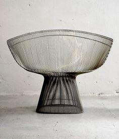 """supersculpture: Chair by Warren Platner, 1966 • 'supersculpture"""""""