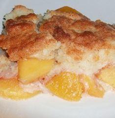 Recipes & Recipes: Peach Cobbler Dump Cake