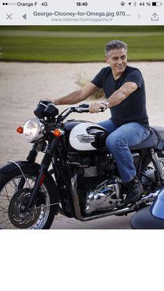 Clooney en Triumph